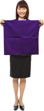 中巾(約45cm)のし袋包みの袱紗としてなど